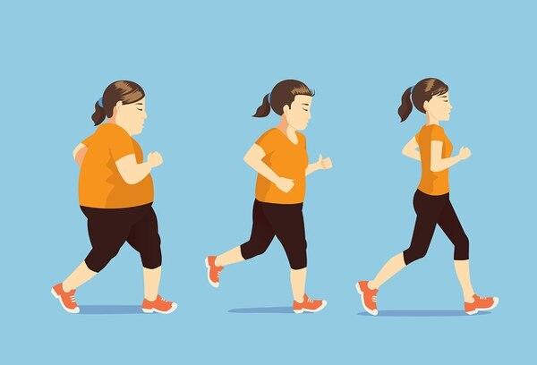 El ejercicio físico es parte del tratamiento del hígado graso.