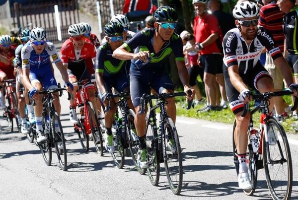 Andrey Amador durante la etapa 15 del Giro de Italia.