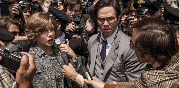 Fotos: TriStar Pictures La actriz Michelle Williams interpreta a Gail Getty en el filme 'All the Money in the World'.