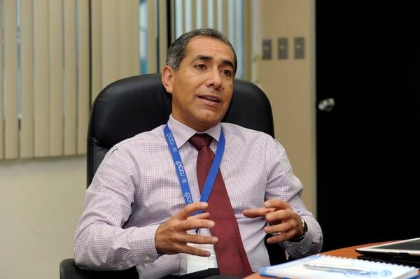 Francisco Calvo Bonilla, gerente general de Racsa. Foto: Alonso Tenorio.