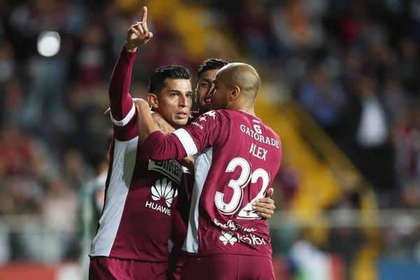 Ariel Rodríguez marcó anoche su segundo gol en el Clausura 2018. / Fotografia: John Durán