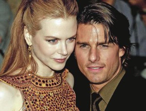 Nicole Kidman y Tom Cruise se casaron en 1990. Su matrimonio se mantuvo por 10 años. Foto: Archivo LN