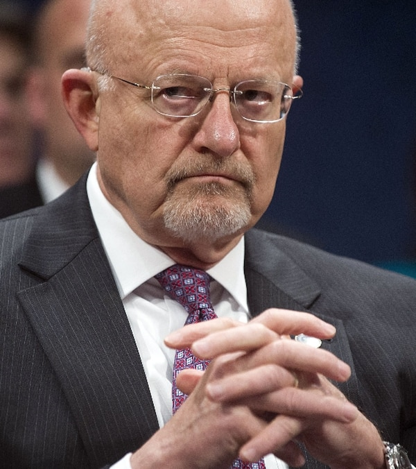 James Clapper, director de Inteligencia Nacional.