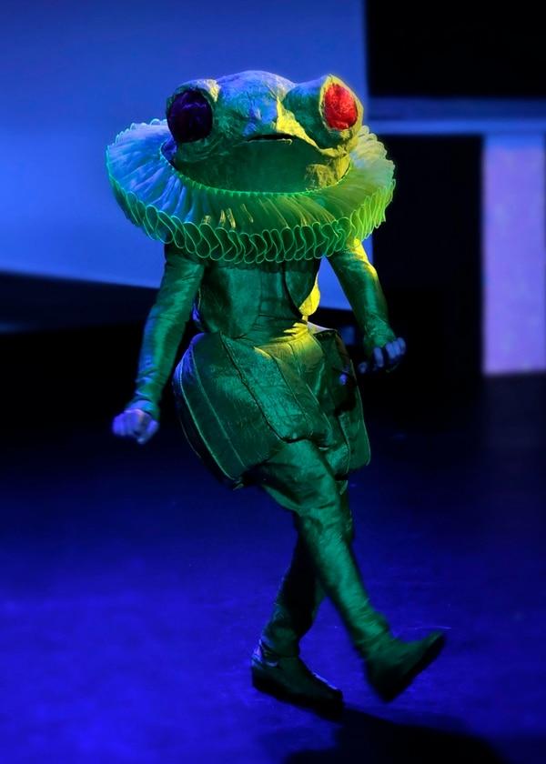 Naturaleza. El Lacayo Rana, basado en la rana de ojos rojos. Albert Marín.