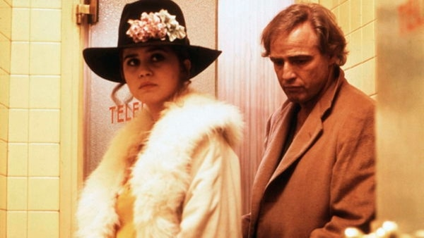 Schneider tenía 19 años y Brando, 48, al filmar la película. Archivo.