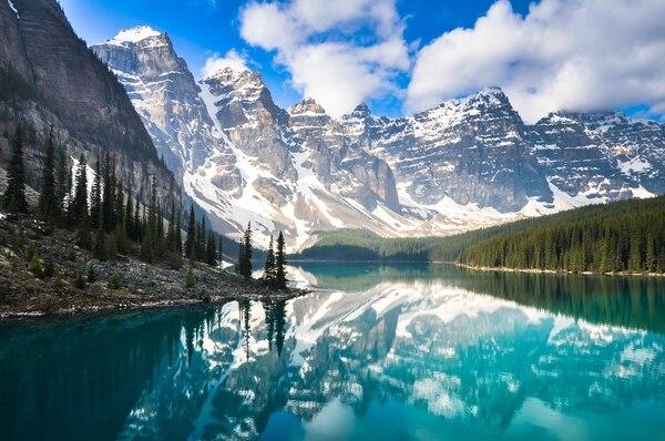 Ese es uno de los tantos bellos paisajes que ofrece Canadá. Fotografía: Shutterstock