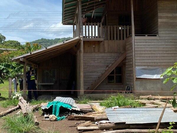 En un cuarto de esta vivienda fue hallado el cuerpo de la mujer por parte de allegados. Foto: Cortesía de Guana/Noticias.