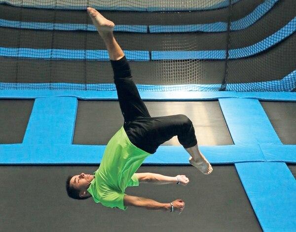 Esta actividad física es especial para practicarla desde niños.   ALBERT MARÍN.