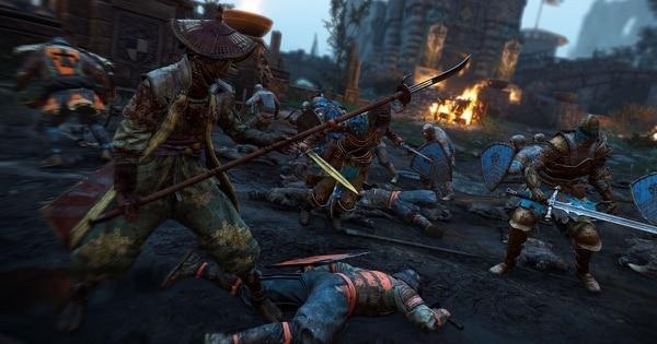 'For Honor' enfrenta a samurais, vikingos y caballeros medievales.