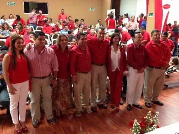 Este es el nuevo comité ejecutivo nacional del Movimiento Libertario. / Aarón Sequeira