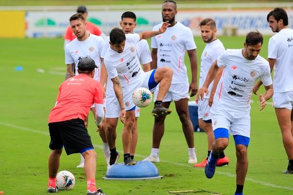 Los jugadores de la Selección Nacional se preparan para la Copa Oro 2019. Foto: Rafael Pacheco