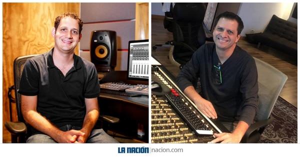 Paul Rubinstein y Erick Román fueron nominados en la categoría de Mejor ingeniería de grabación para un álbum en los Latin Grammy 2020. Esta es la primera nominación para ambos. Fotos: Cortesía para LN