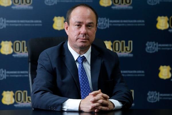 Wálter Espinoza, director del OIJ, detalló que el caso será investigado con la misma seriedad que otros. Fotos: Mayela López