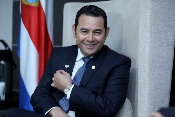 Se necesita la aprobación de 105 de los 158 congresistas para quitarle al presidente Jimmy Morales el blindaje presidencial. Foto: Gobierno de Guatemala