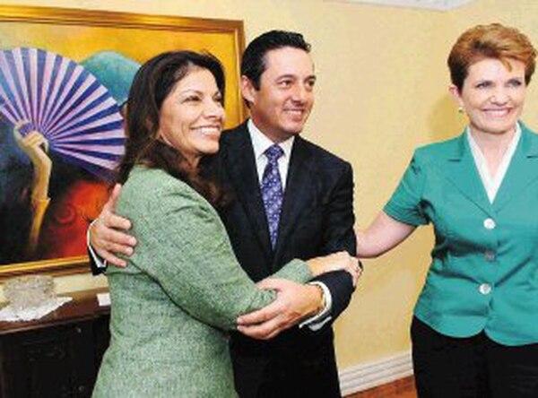Antonio Álvarez Desanti se postuló como candidato a la presidencia en el 2006 por el partido Unión por el Cambio ahora apoya a Laura Chinchilla en Liberación Nacional. | MARIO ROJAS