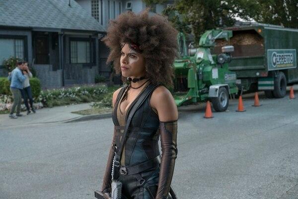 Zazie Beetz, quien se dio a conocer por la serie 'Atlanta', interpreta a Domino. Es la primera actriz en encarnar a este personaje. Fotos: 20th Century Fox
