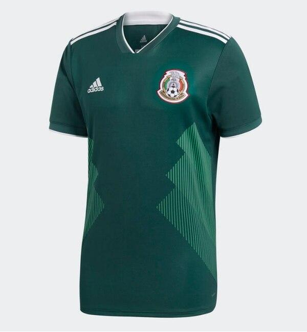 fc83adcafdadf Los mexicanos llevarán a Rusia una indumentaria que se inspira en sus  primeros uniformes de la