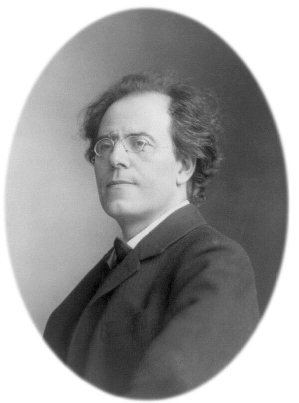 Gustav Mahler, compositor, 7 de julio de 1860-18 de mayo de 1911.