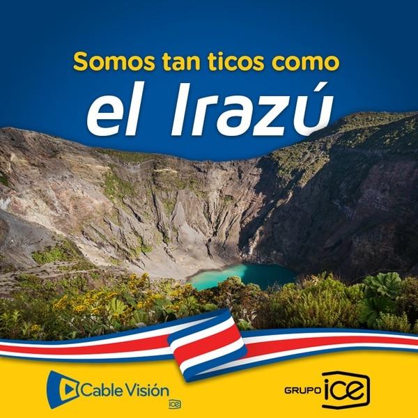 Parte de la publicidad de Cablevisión, subsidiaria del Instituto Costarricense de Electricidad durante el mes de setiembre anterior / Grupo ICE para LN.