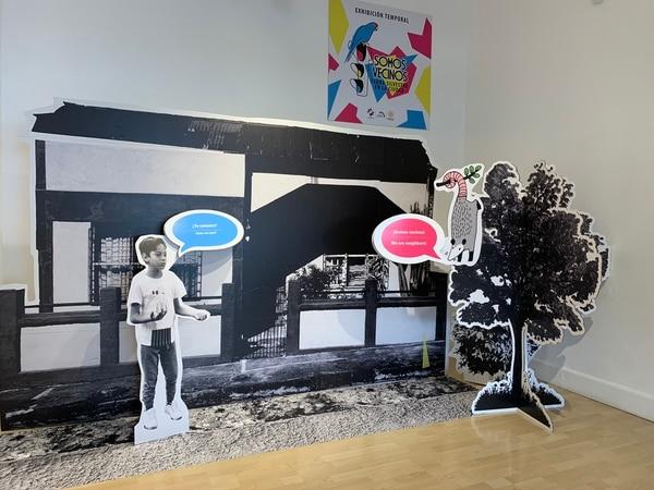 """La exposición """"Somos vecinos, fauna silvestre en la ciudad"""