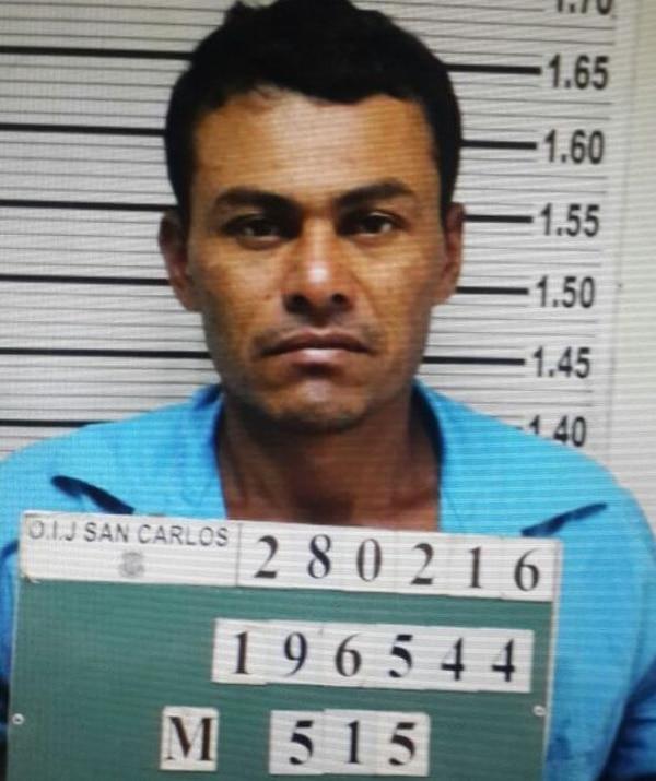 El OIJ distribuyó fotografía para ayudar a identificar al sospechoso del asesinato, un hombre de apellido Valdivia.
