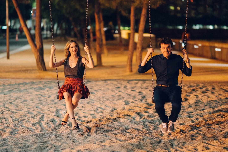 La actriz Marta Hazas protagoniza la serie 'Pequeñas coincidencias' disponible en Amazon Prime Video. Fotografía: Manu Fiestas para La Nación