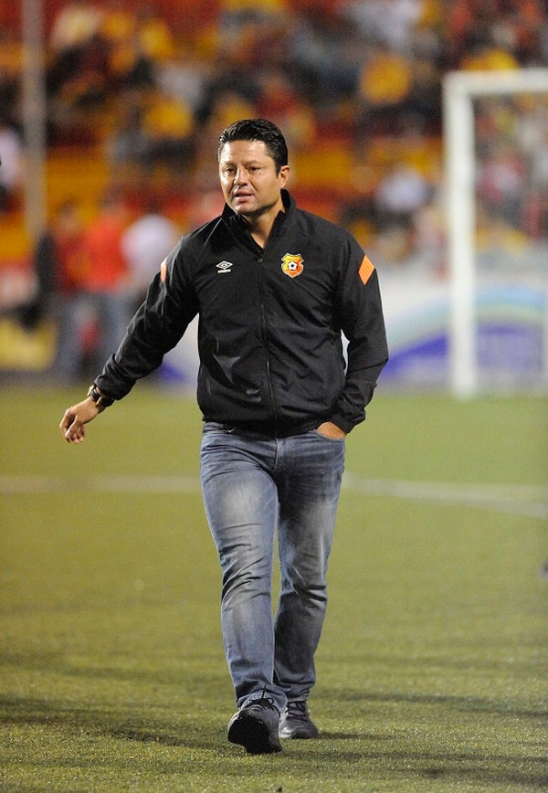 Jafet Soto, técnico del Herediano.