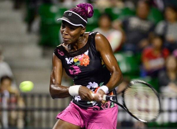 4-6, 7-5 y 6-3 fue el marcador del juego que Venus Williams ganó sobre Simona Halep.