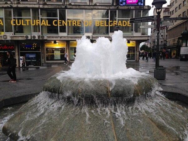 Centro de Belgrado. Fotografía: Jairo Villegas S.