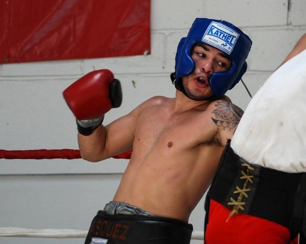 Bryan Vásquez se prepará por las próximas seis semanas en Los Ángeles. Tendrá cuatro sesiones de preparación en esos días.   ARCHIVO/DIANA MÉNDEZ