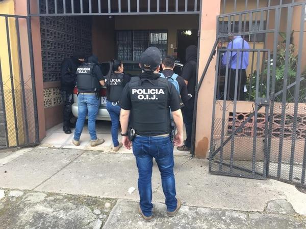 28/08/2019 Detienen hombre en Gravilias de Desamparados por explotar mujeres sexualmente. Foto: OIJ.