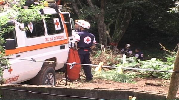 El cuerpo apareció este martes hacia las 9 a. m. en el río Ciruelas, en San Antonio del Tejar, Alajuela.