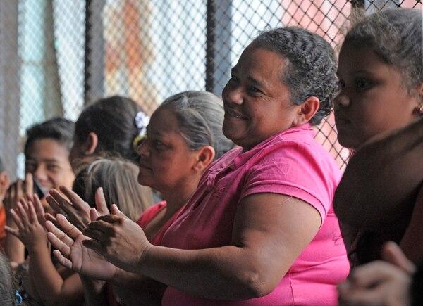 El público, casi conformado en su totalidad por vecinos de La Carpio, aplaudieron agradecidos el concierto. Pablo Montiel.
