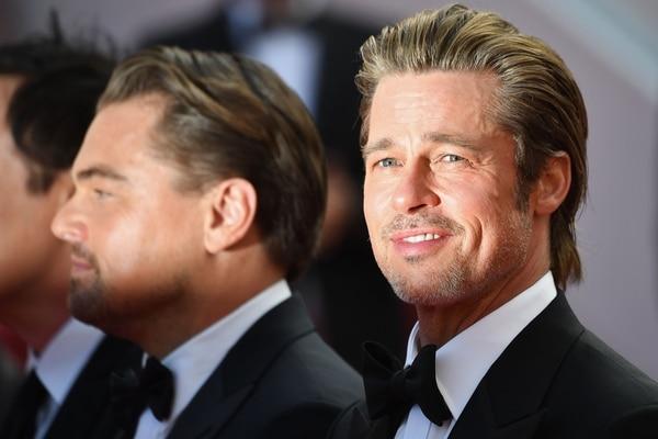 """Brad Pitt y Leonardo DiCaprio son los protagonistas de """"Once Upon a Time... in Hollywood"""", la nueva cinta de Tarantino y la primera que realiza sin el apoyo de Harvey Weinstein, luego de este se viera involucrado en graves denuncias de acoso, abuso sexual y abuso de poder en Hollywood. Foto: LOIC VENANCE / AFP"""