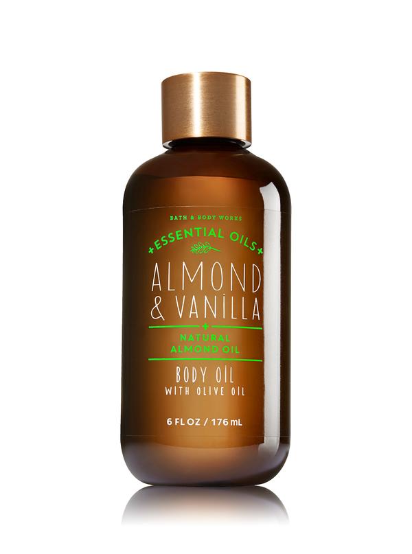 Aceite esencial de almendra y vainilla para reconfortar los sentidos.
