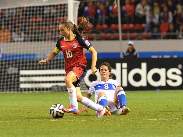 Gloriana Villalobos jugó el Mundial Sub-17 con apenas 14 años.