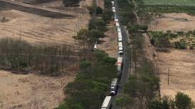 Gobierno de Nicaragua cierra tránsito de mercancías por puesto fronterizo de Peñas Blancas