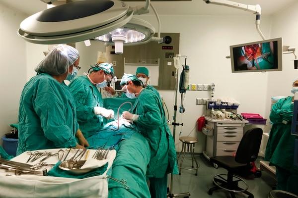 En seis semanas, el Programa Cardiovascular Pediátrico operó a 28 niños. Ni uno solo de ellos falleció. | ARCHIVO/JORGE ARCE