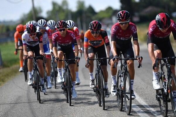 Andrey Amador salió satisfecho con lo que fueron las cuatro etapas de la Ruta de Occitania. Fotografía: Twitter de Andrey Amador / GettySports