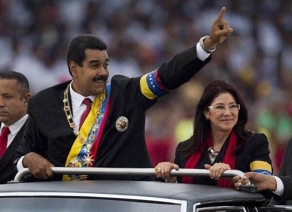 Maduro fue electo el 14 de abril en unos comicios anticipados por la muerte de Hugo Chávez el 5 de marzo.
