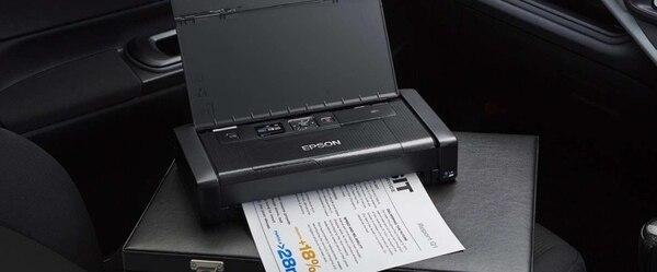 Con la WF-100 es posible imprimir desde teléfonos inteligentes, tabletas y laptops.