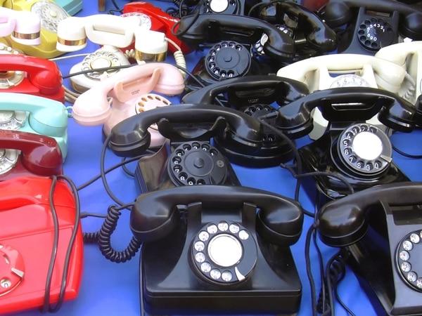 Los teléfonos fijos ya son cosa del pasado.