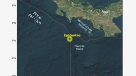 Temblor de magnitud 4 sacude Golfito
