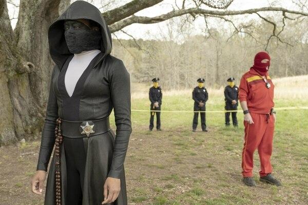 HBO estrena este 20 de octubre la serie 'Watchmen', basada en el cómic de Alan Moore del mismo nombre. Foto: Cortesía de HBO