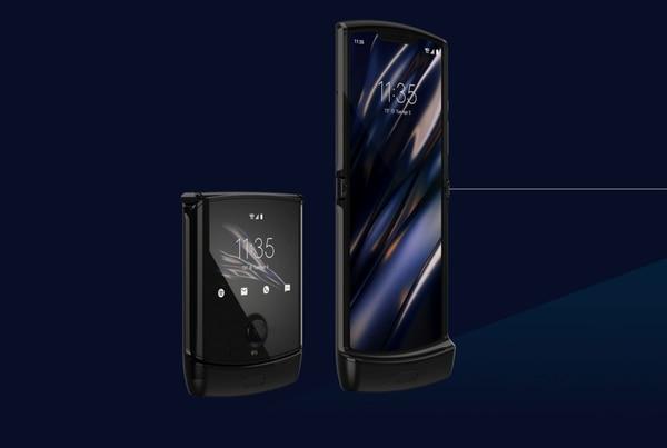 El dispositivo ofrece dos pantallas, de 6.2 y de 2.7 pulgadas. Foto: Motorola para LN.
