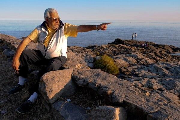 El buscador de tesoros Rubén Collado explicó que los restos del buque inglés