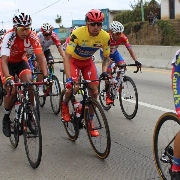 Román Villalobos conservó la camisa amarilla de líder general y si no ocurren eventualidades, este martes será bicampeón. | CANEL'S SPECIALIZED