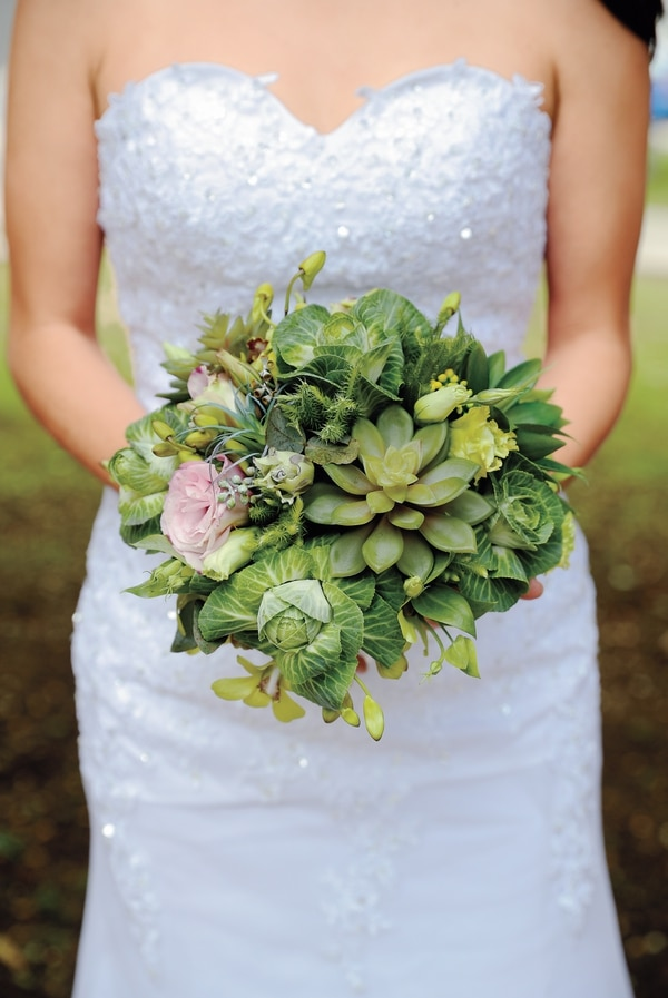 Opciones de buqué para la boda. Diseño de Floristería Marvin.
