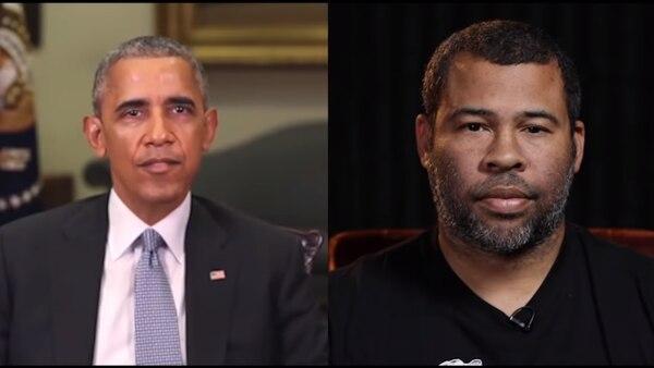 El actor Jordan Peele interpretó en 2018 al expresidente Obama utilizando