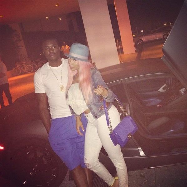 Nicki Minaj hizo oficial su relación con Mekk Mill hace dos meses.